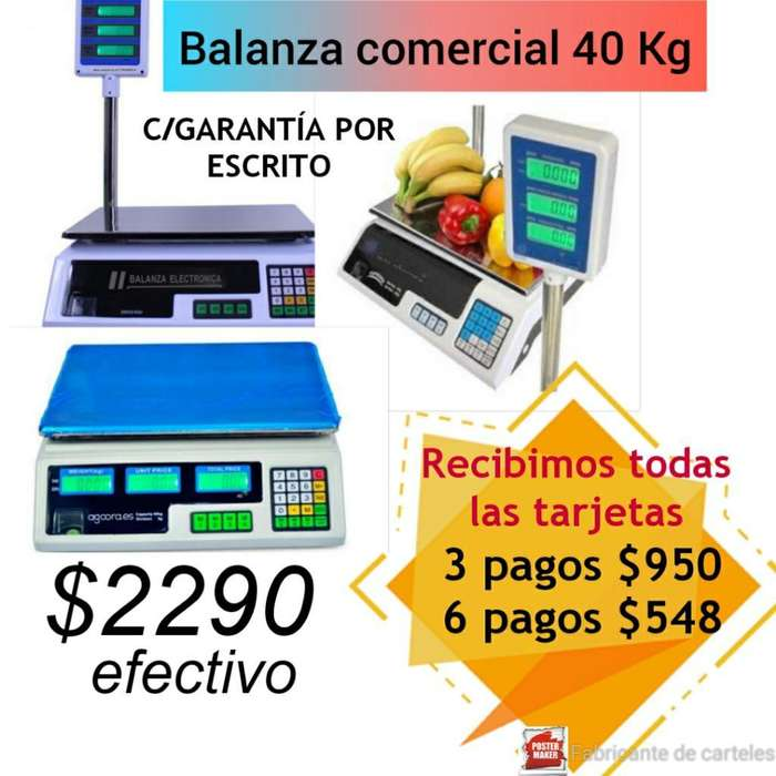 Balanza Digital 40kg