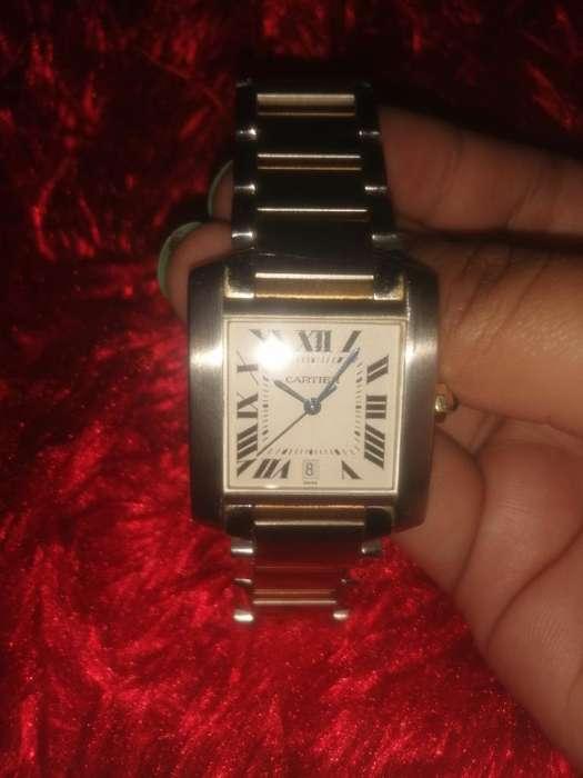 de Venta Reloj Cartier Original con Oro