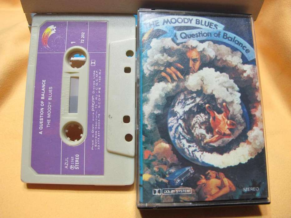 The Moody Blues - A Question Of Balance - Cassette BRA