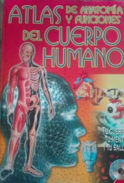 ATLAS DE ANATOMIA Y FUNCIONES DEL CUERPO HUMANO