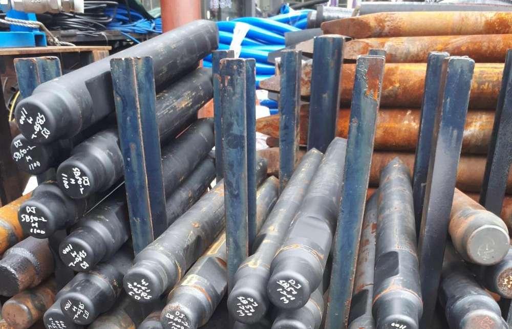 punta para martillo hidraulico para retroexcavadora y minicargador