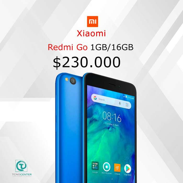 Xiaomi Redmi Go 1GB/16GB, TIENDA FÍSICA ,nuevo, homologado, sellado, factura de compra,garantía.