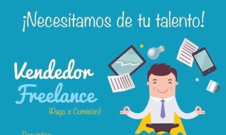 VENDEDOR FREELANCE / TELETRABAJO