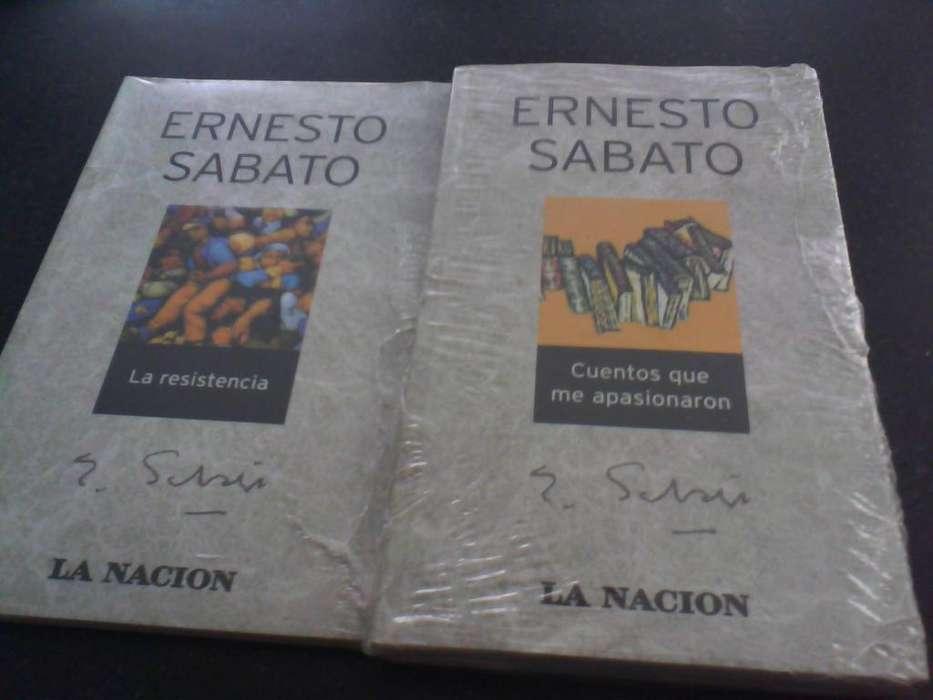 10 libros de Sabato colección La Nación 130 cada uno