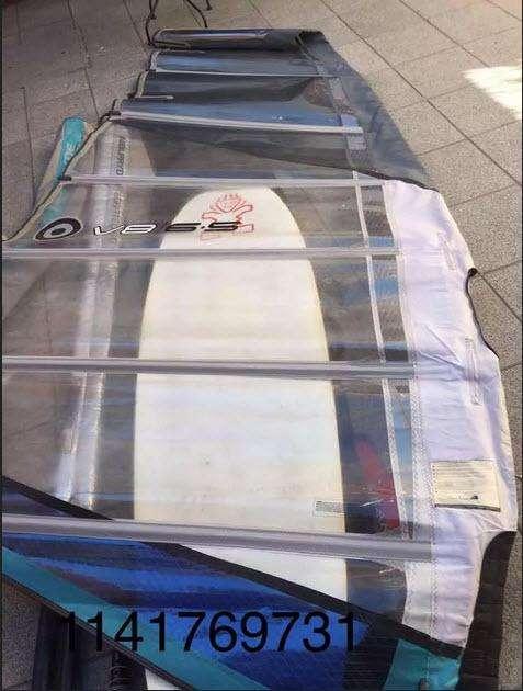 Vela Windsurf Neilpryde V8 6,5 - Excelente