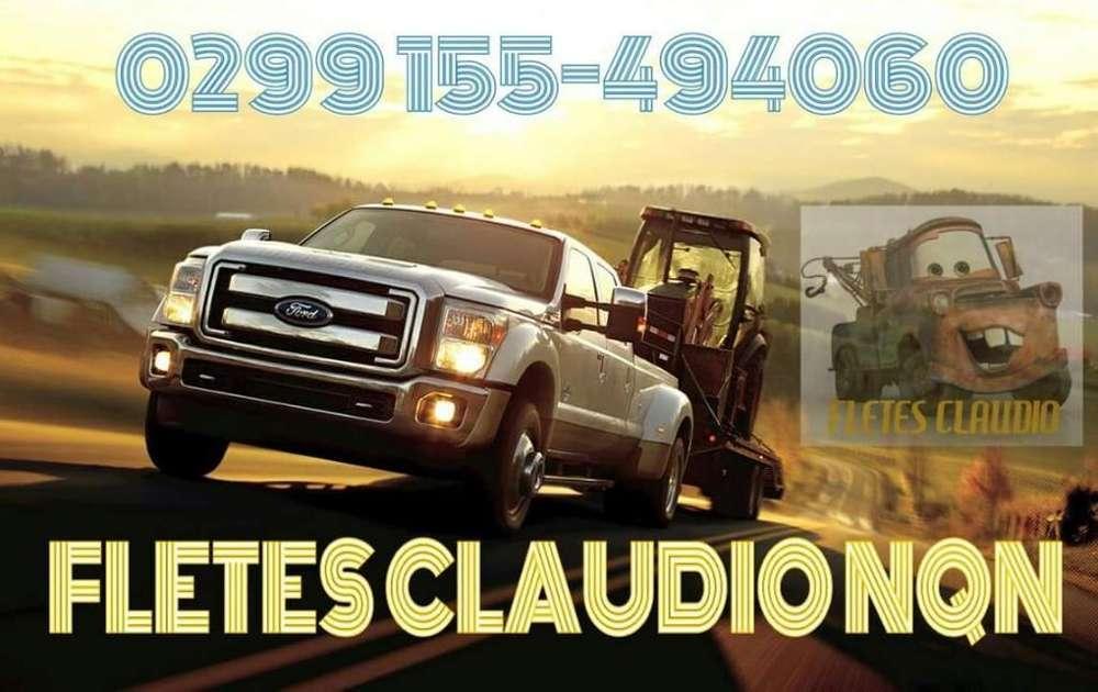Fletes Claudio Nqn Neuquen
