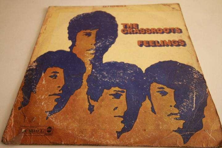 the grassroots feelings LP vinilo edición perú rock 60s
