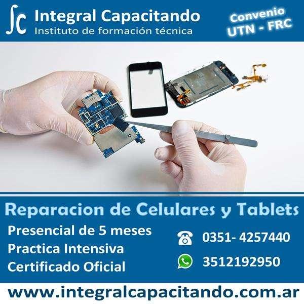 Curso de Reparacion de Celulares - Certificado Oficial