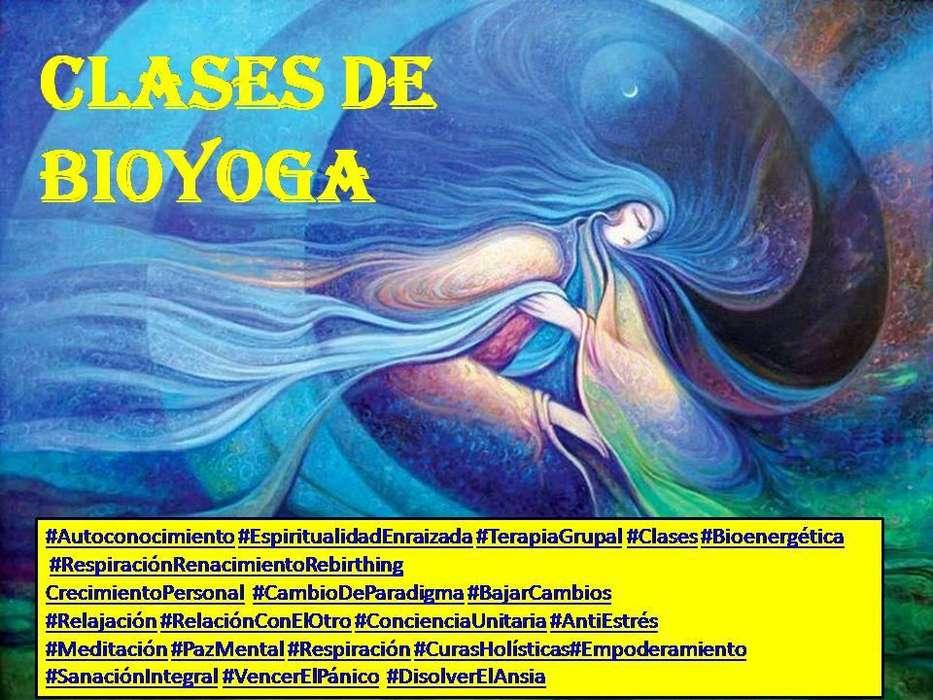Clases de Bio Yoga- Zona Plaza España