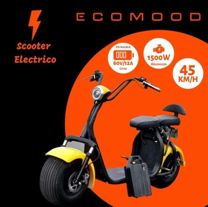Scooter Eléctrico, Motos Eléctricas Modelo <strong>harley</strong> Shopper