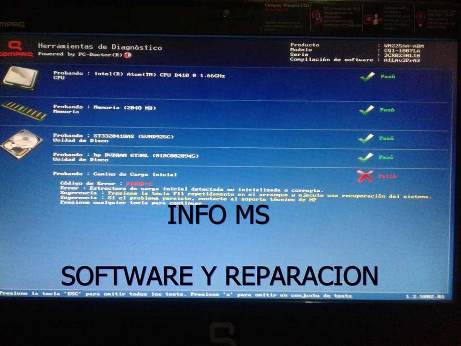 INFO MS software y reparación