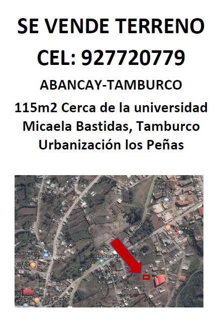 Vendo Terreno Abancay Apurimac