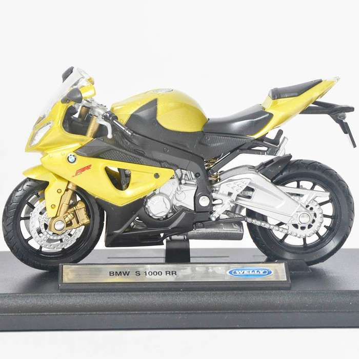 Bmw S1000 Rr - Escala 1:18 Ref 666
