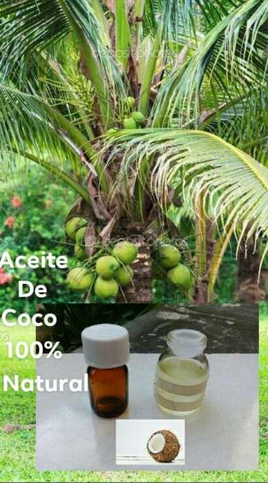 Aceite de Coco, de Palta Y de Romero