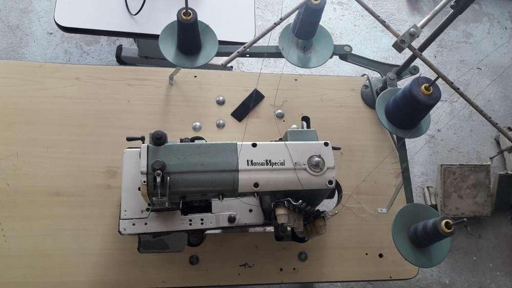 Maquina de Coser Pretinadoramarca Kansai
