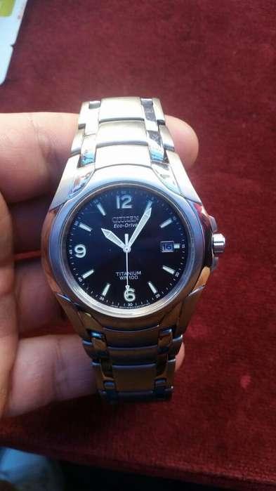 Vendo Reloj Citizen Eco Drive Titanium