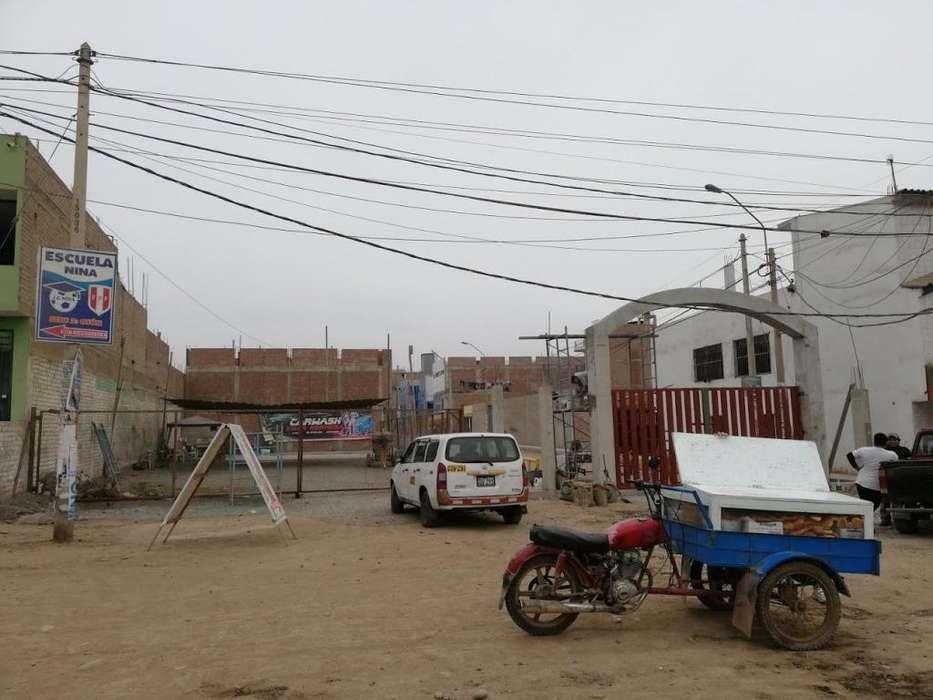 Vendo terreno SUPER COMERCIAL de 427mts en esquina en Av. Jose Saco Rojas en carabayllo