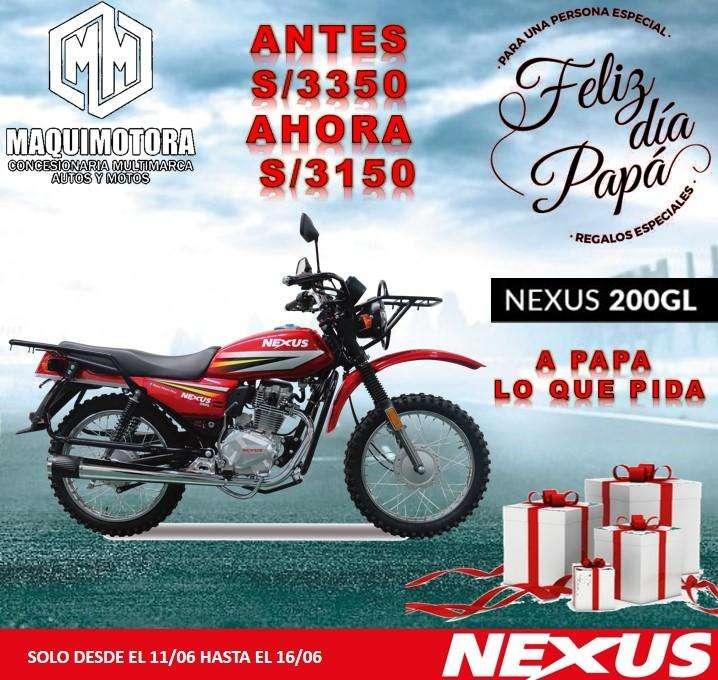 MOTO LINEAL NEXUS 200 GL