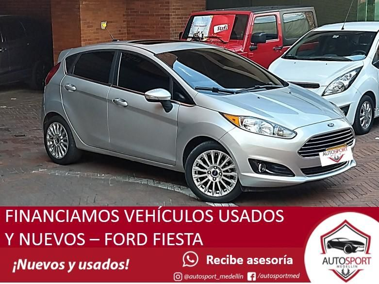Ford Fiesta - Financia fácil y rápido