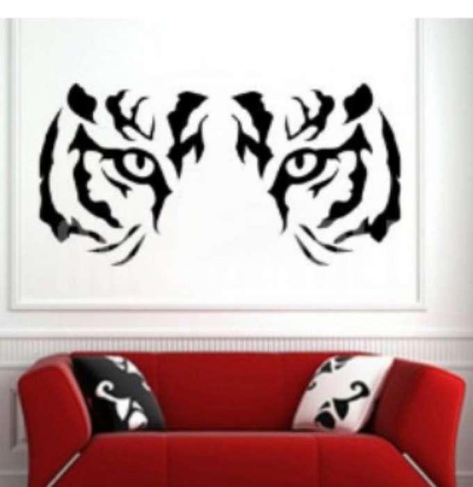 Cuadro Mirada Del Tigre