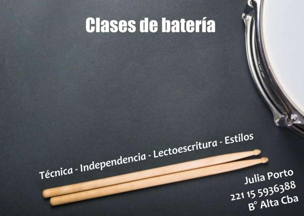 Clases de batería - Córdoba capital