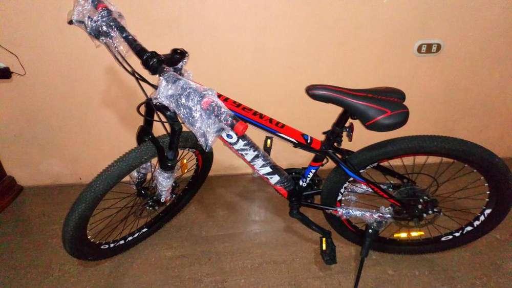 <strong>bicicleta</strong> Oyama Aro 24 Nueva con Cambios
