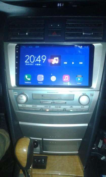 TOYOTA CAMRY ESTEREO CENTRAL MULTIMEDIA STEREO CON ANDROID, GPS, BLUETOOTH