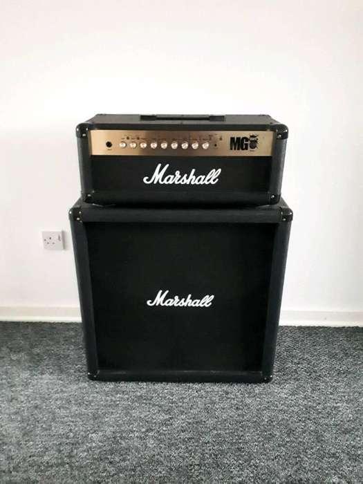 Amplificador Marshall Mg100fx Cabezal Gabinete