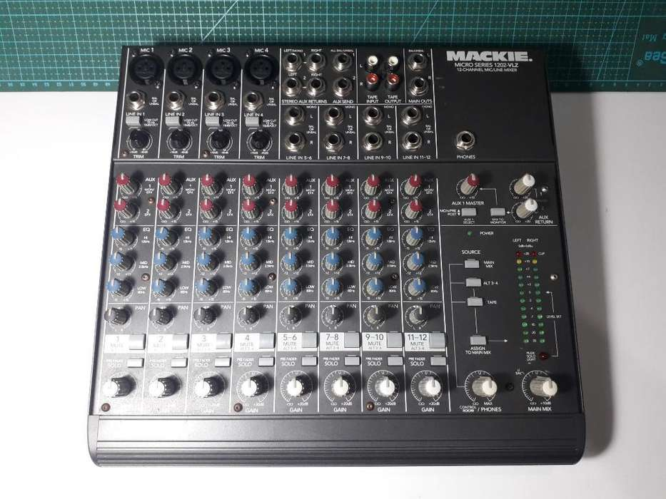 Consola Audio Mackie 1202 Original Usa