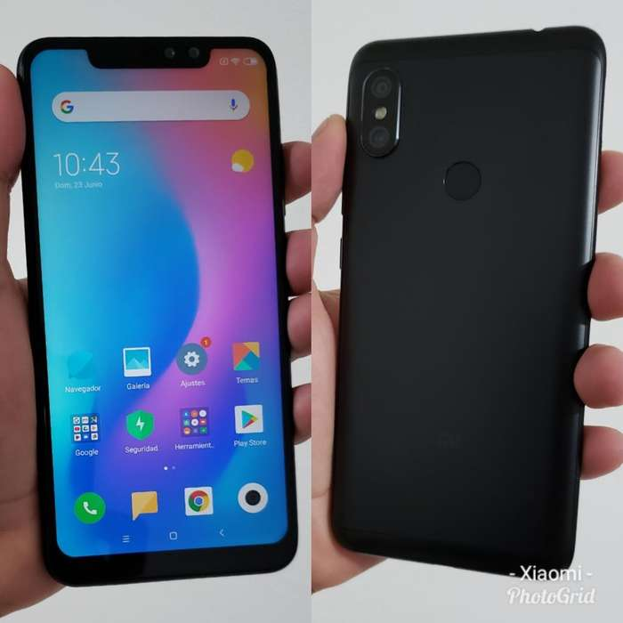 Xiaomi Redmi Note 6 Pro 3ram 32gb Huella