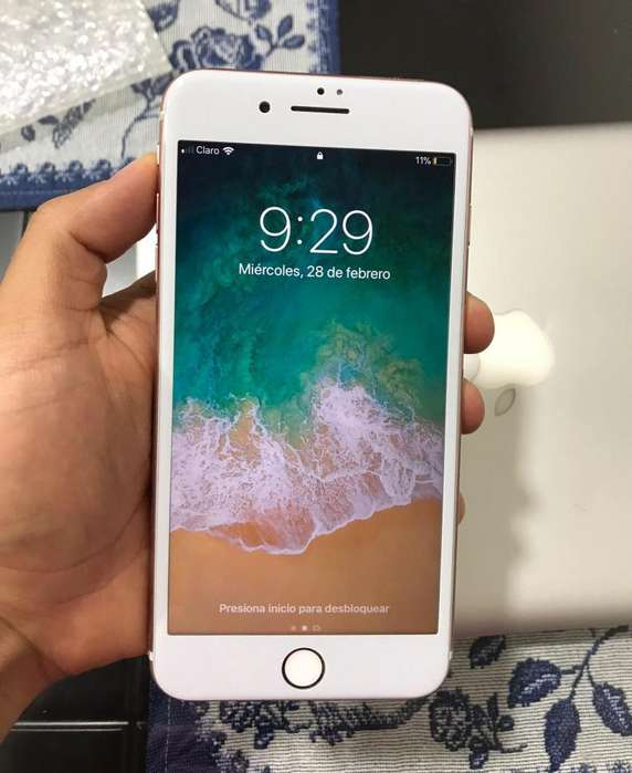 iPhone 7 Plus 128 Gb Rosado