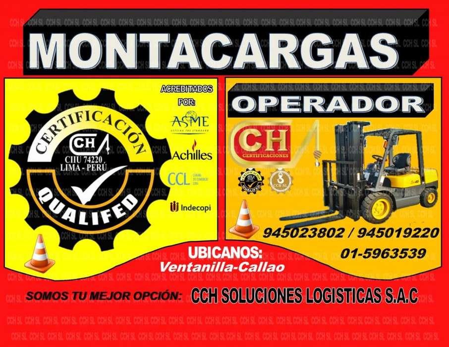 FORMACION OPERADORES DE MONTACARGAS, CAPACITACION Y CERTIFICACION