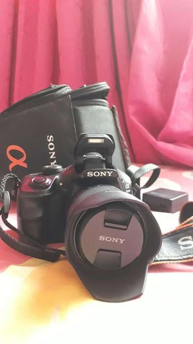 Cámara Sony Alpha 3500 Como Nueva