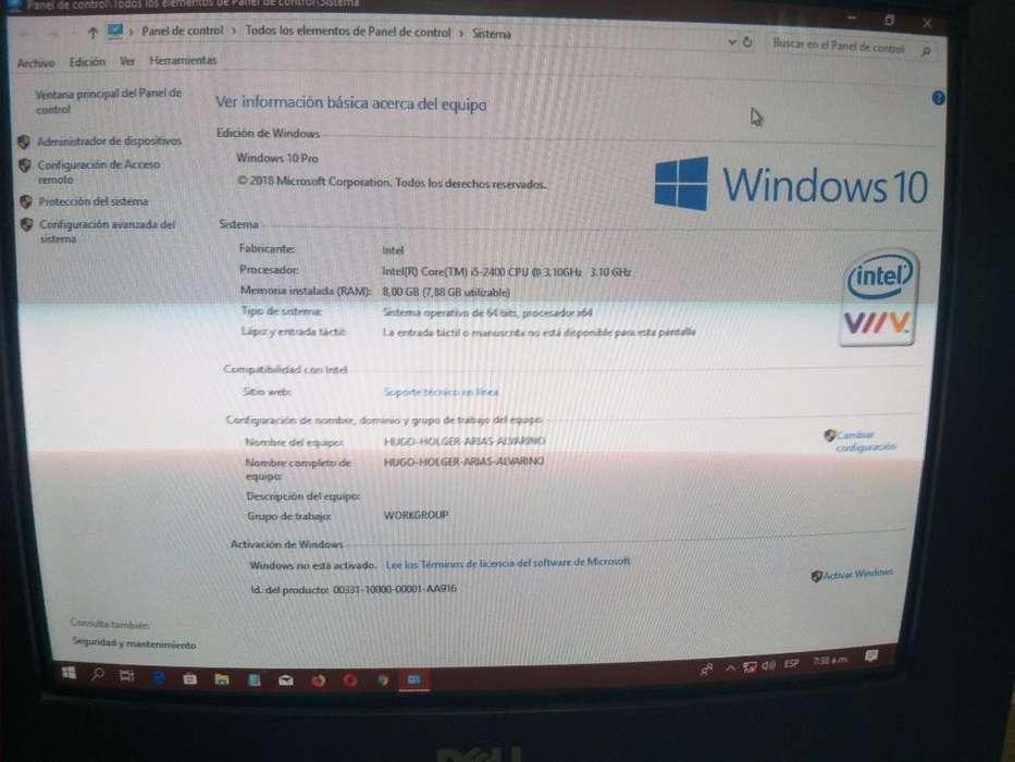 Combo Core I5 Ram 8 Gigas Discos Duros.