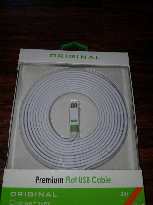 Cables Usb para Samsung, Iphone, Otg, S5 3 Metros