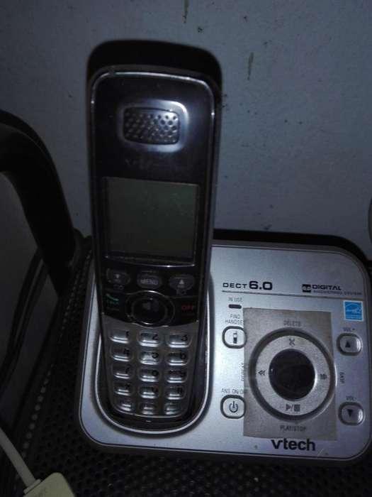 Teléfono inalambrico marca Vtech modelo D6.0