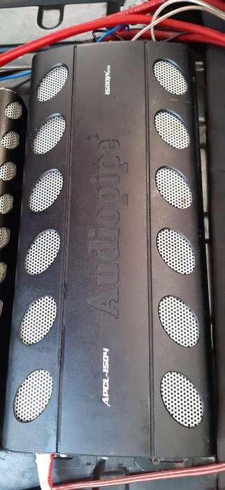 Vendo Amplificadores Audiopipe
