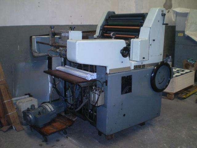 Impresora Solna 125 Plus de 1 Color Año 1982