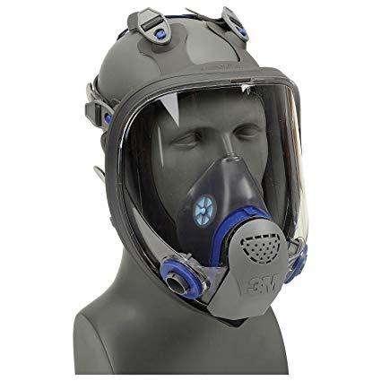 Respirador rostro completo 3M