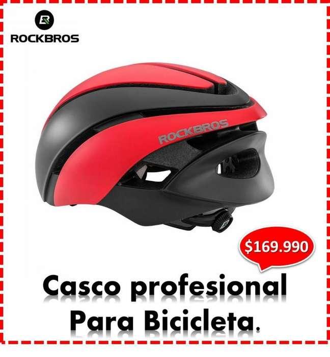 CASCO PROFESIONAL ROCKBROS, UNISEX, BICICLETA MB Y CARRERA , ENTREGA A DOMICILIO.