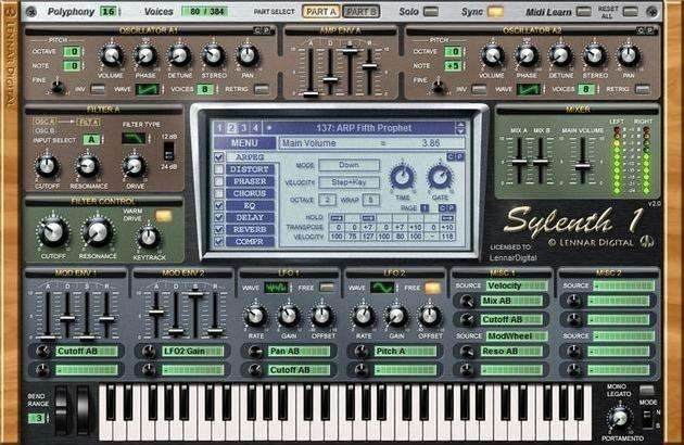 Producción Musical Sylenth1 Vst Audio Sintetizador Plugin Sylenth Pc Mac