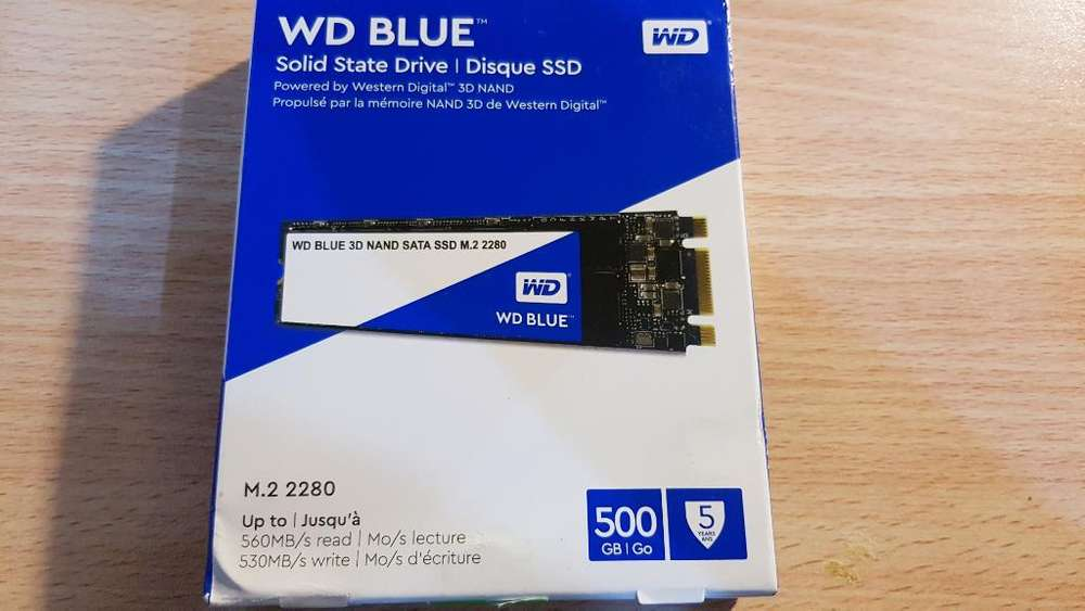 Disco Solido Ssd M2 Western Digital 500
