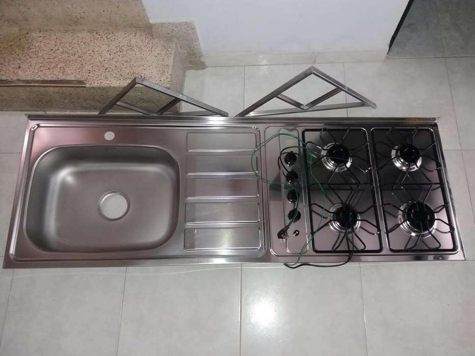 Lavaplatos con estufa cali 3196260607