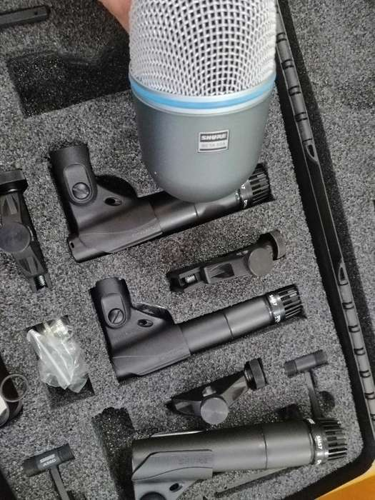 Kit de Micrófonos para Bateria