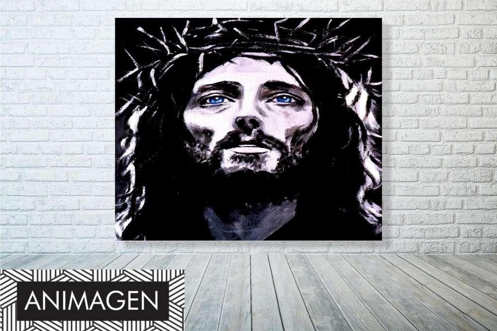 Cuadro decorativo de cristo 2184