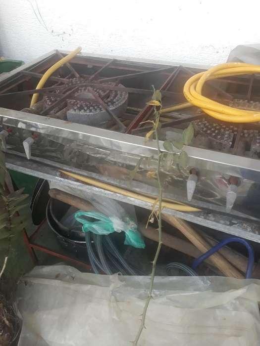 Estufa Industrial con Pipa de 40 Libras