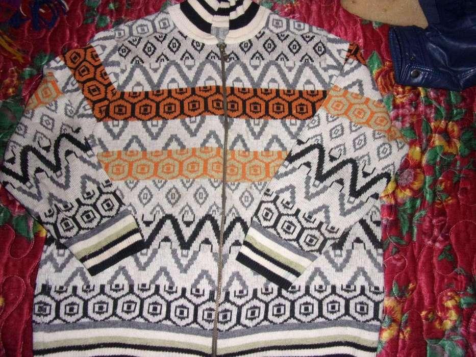 pulover cierre campera