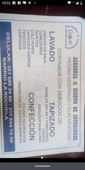 Lavanderia Y Tapiceria