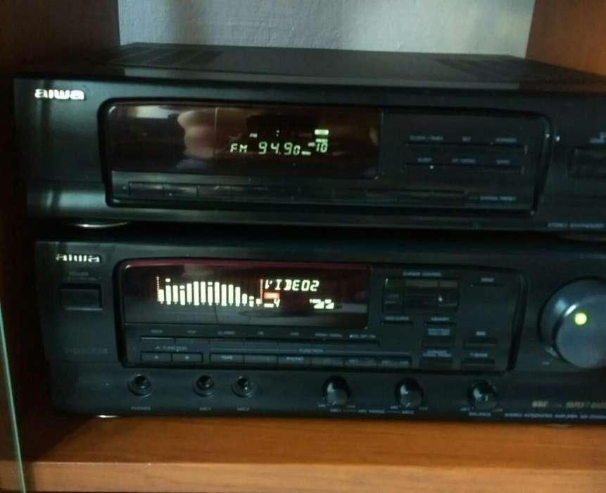 Amplificador Aiwa con Radio.funcional Mu
