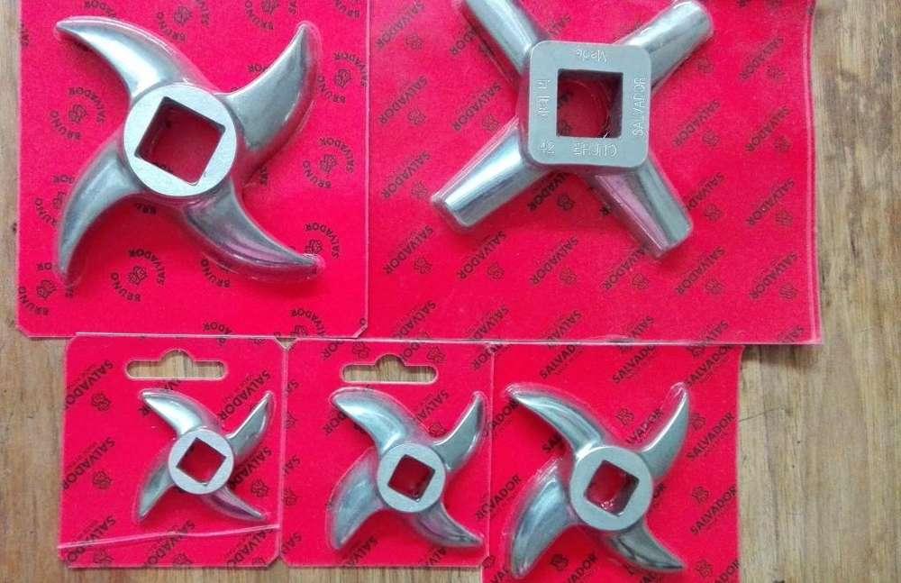 Cuchillas y Discos SALVADOR para molinos de carne